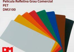 Película Refletiva Grau Comercial – Serie DM 3100 – PET