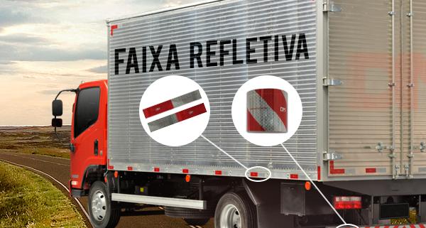 Faixa Refletiva para caminhão