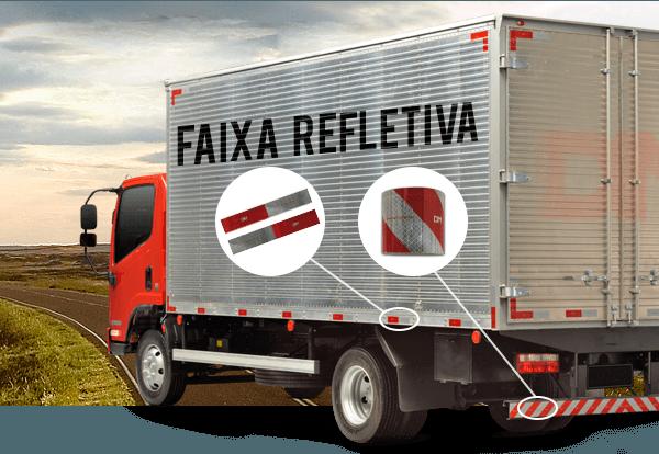 Faixas Refletivas DM para caminhão