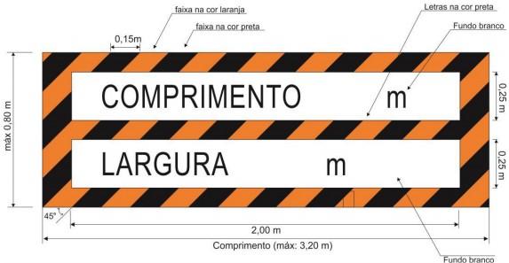 Contran estabelece novas regras para a sinalização traseira de veículos longos